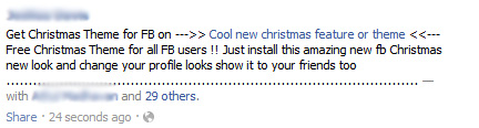 Get Christmas Theme for FB on —>> Cool new christmas feature or theme