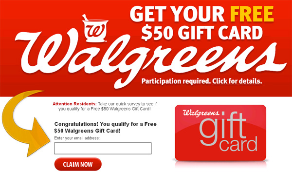 Get 1 F.R.E.E. Walgreens Gift Card! (limited time only) – Facebook ...