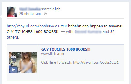 GUY TOUCHES 1000 BOOBS!!! – Facebook Scam