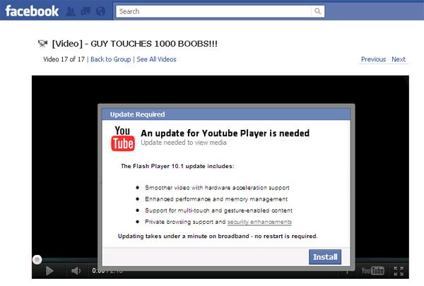 GUY TOUCHES 1000 BOOBS!!! - Facebook Scam