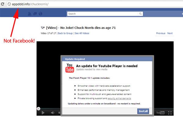 [video] Chuck Norris dies at age 71! Not a Joke.- Facebook Scam