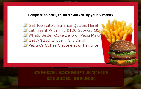 Eat at McDonalds for FREE! (limited time only) - Facebook Scam