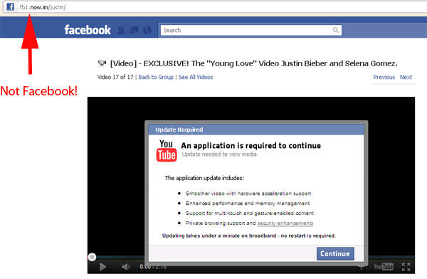 TOP 10 MOST POPULAR VIDEOS - Facebook Scam