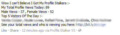 OMG! i just noticed who keep watching my profile and photos. It was really shocking to know - Faceook Scam