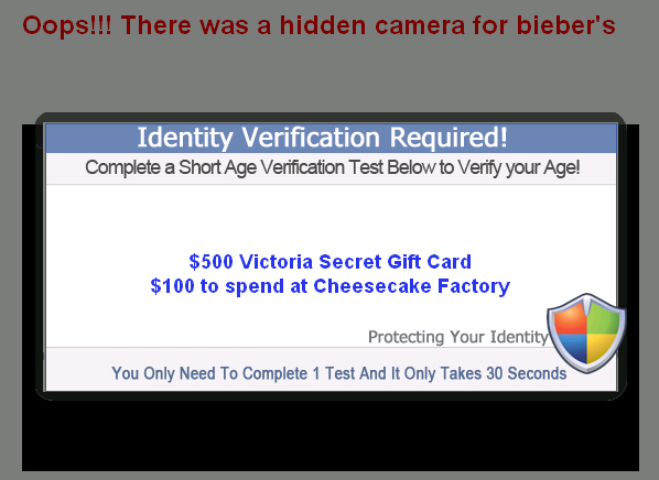 Oops!!! There was a hidden camera in Selena & bieber's bedroom - Facebook Scam