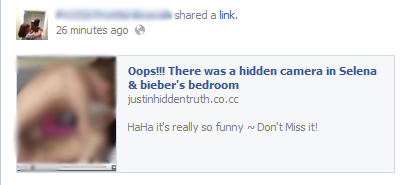 Oops!!! There was a hidden camera in Selena & bieber\'s bedroom ...