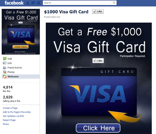 when - Earn Free Visa Gift Cards