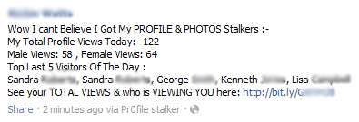 Wow I cant Believe I Got My PROFILE & PHOTOS Stalkers – Facebook Scam