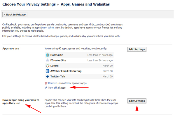 How to Protect your Personal Data from Facebook Applications your Friends Use