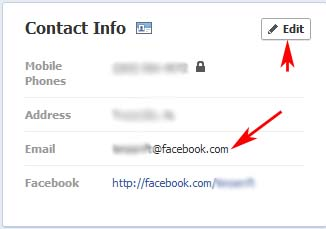 how to change your email on facebook youtube