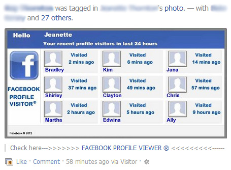 Facebook Profile Viewer – Facebook Scam