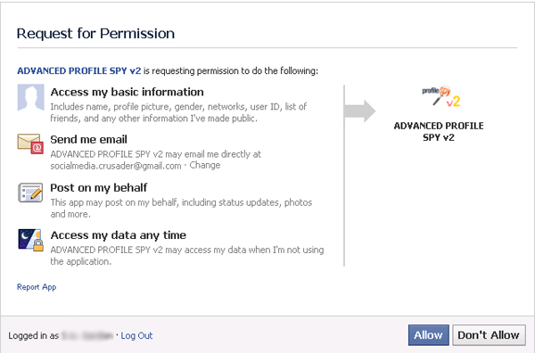 facebook profile spy app ios