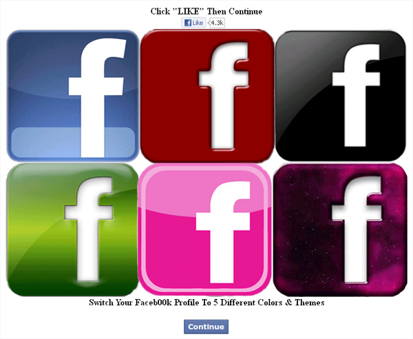 facebook colour changer descargar