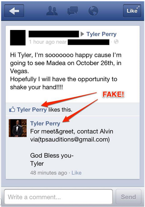 Tyler Perry Cancels Tour Because of Fake Facebook Profiles, Online Bootleggers