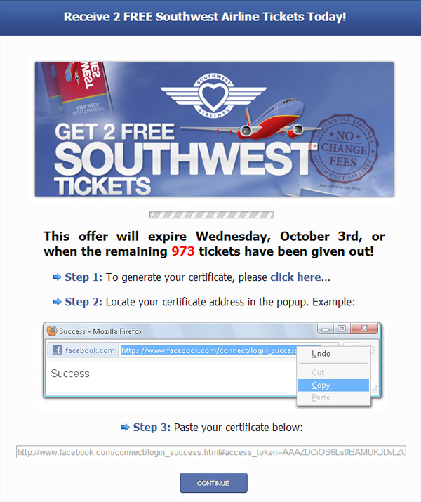 cheap southwest airline tickets