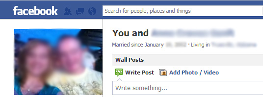 "Facebook ""Couple"" Pages Cannot Be Removed"