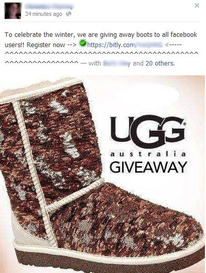ugg facebook