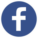 Original Round Blue Facebook Web Icon