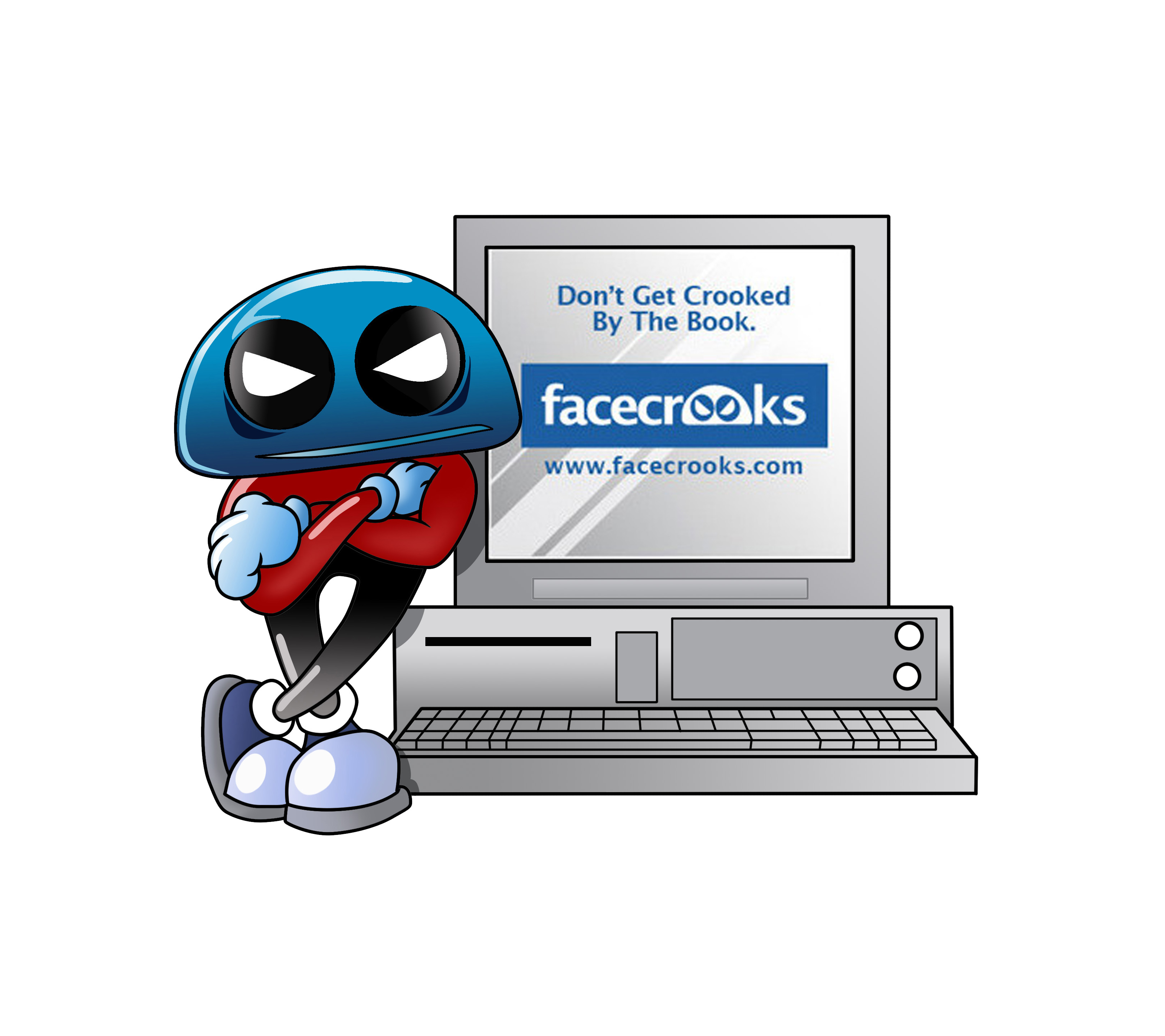 facecrooks_cartoon_computer