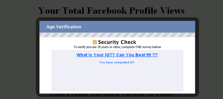 how to know who viewed facebook profile