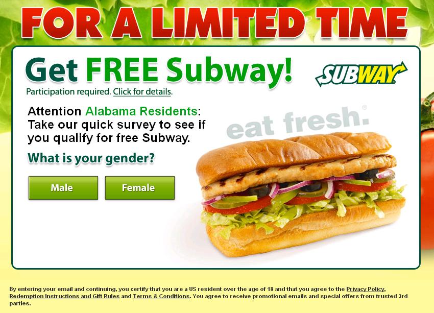 Subway nz coupons