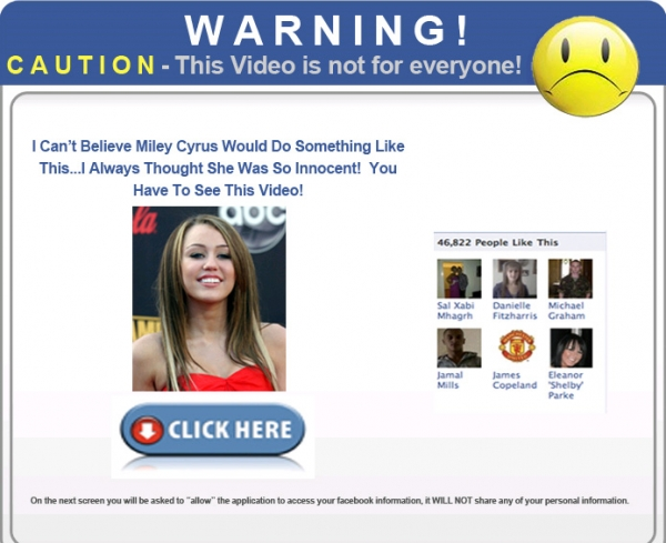 [SCAM ALERT] WOW! I Can't Believe Miley Would Do Something Like This...You Have To See This SHOCKING Video!