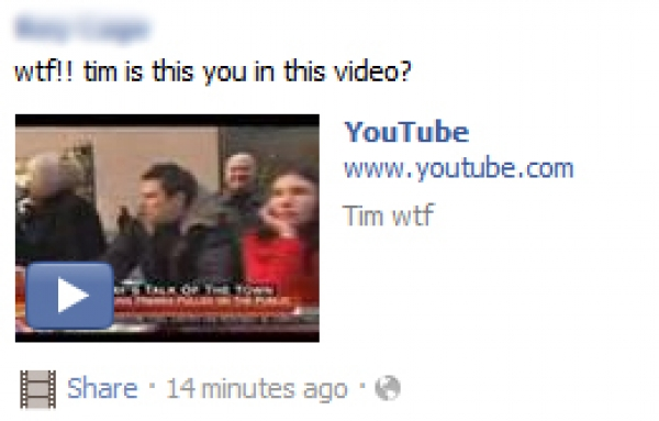 wtf!! [name] is this you in this video? – Facebook Scam