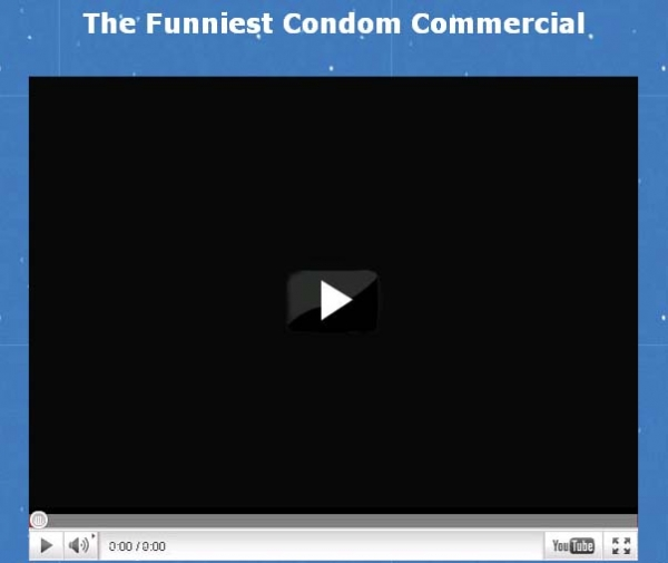 [SCAM ALERT] The World Funniest Condom Commercial – LOL