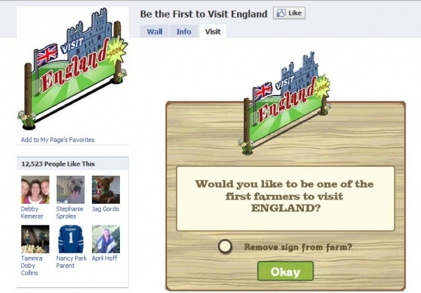 [SCAM ALERT] Visit England ___ has chosen to visit England. The plane leaves in 20 minutes