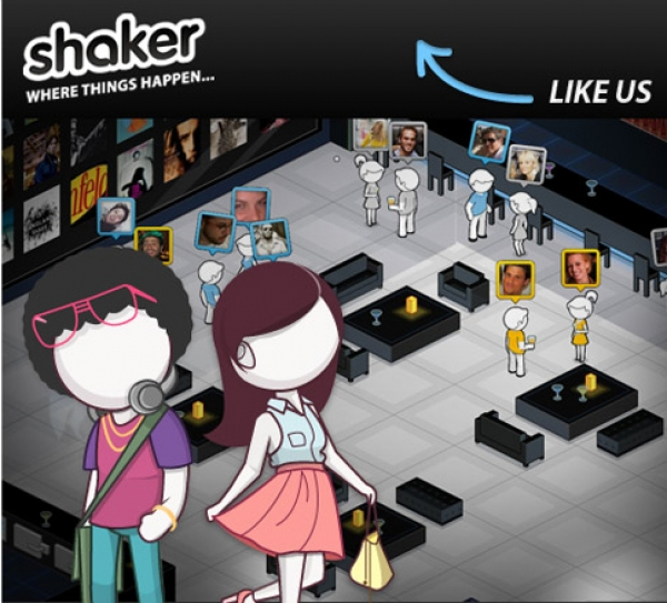 """Facebook Game """"Shaker"""" Simulates Night out at the Bar"""
