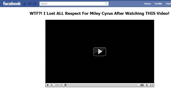 WTF?! I Lost ALL Respect for Miley Cyrus After Watching THIS Video! - Facebook Scam