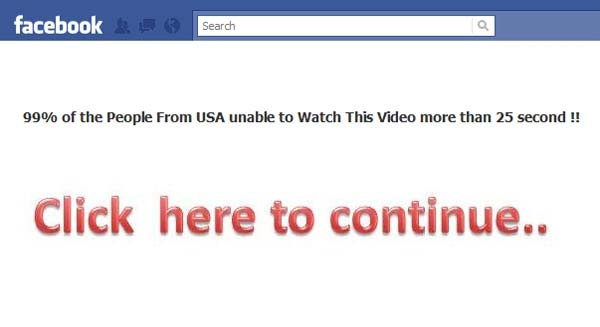 'OMG…YOU WILL CRY TODAY AFTRE WATCHING THIS HORRIBLE THING HAPPEND CALIFORNIA…!!' Facebook Scam