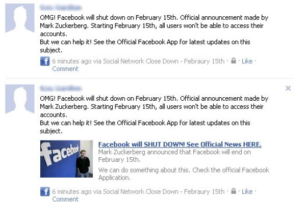 [SCAM ALERT] Facebook will SHUT DOWN! See Official News HERE.