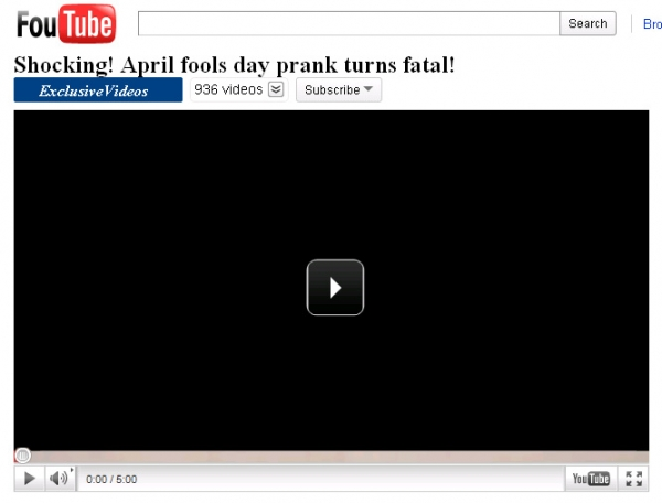 [SCAM ALERT] Shocking! April fools day prank turns fatal!