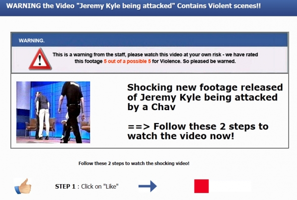 [SCAM ALERT] Jeremy Kyle gets attacked!!