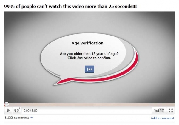 The most provokative video ever - Facebook Survey Scam