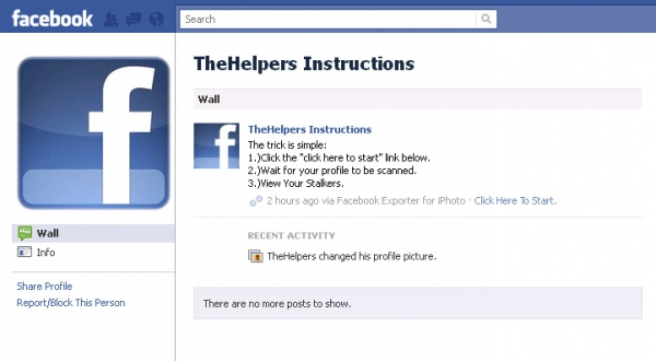 [SCAM ALERT] This is sick!!You have to see this!!Finally a way to see who views your facebook profile