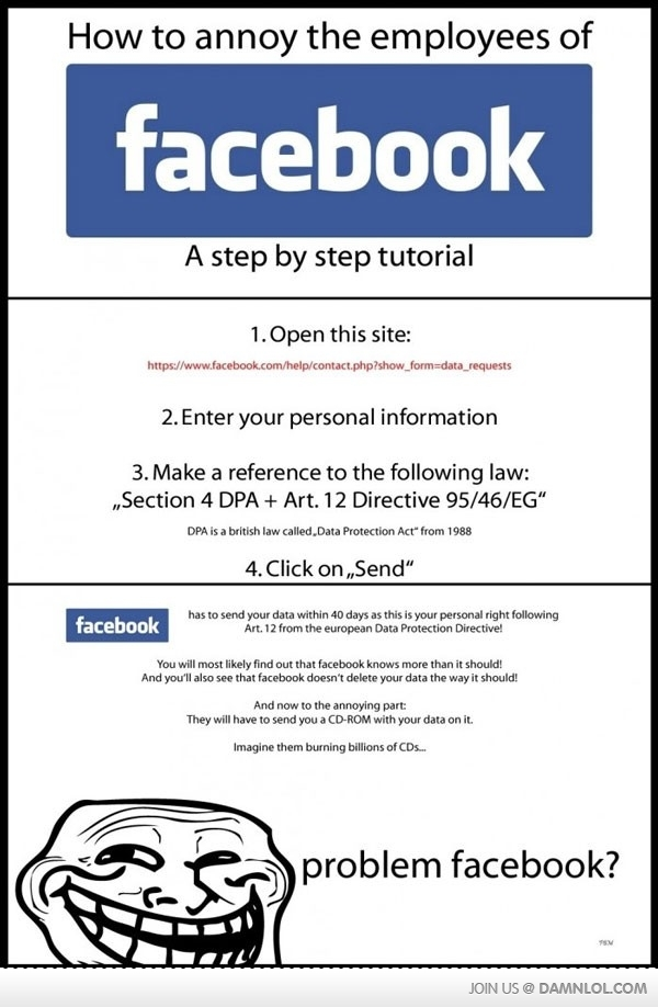 """Did you know that you have a Facebook """"Permanent Record?"""