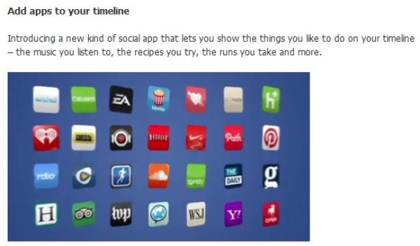 Facebook Timeline: Open Graph Apps to be Reviewed before Publication