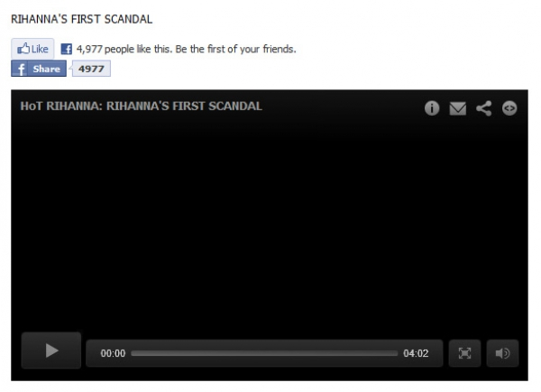 Rihanna's SEX TAPE - Facebook Scam
