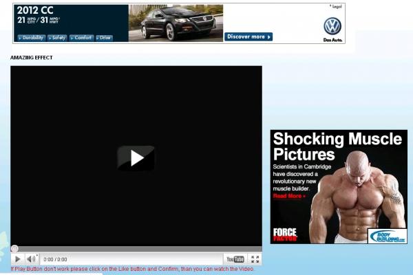 [Like-Jacking Alert] Amazing effect – WebCamera